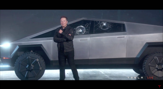Tesla May Be Testing Cybertruck's Armor Glass By Using It In Mobile Service Fleet