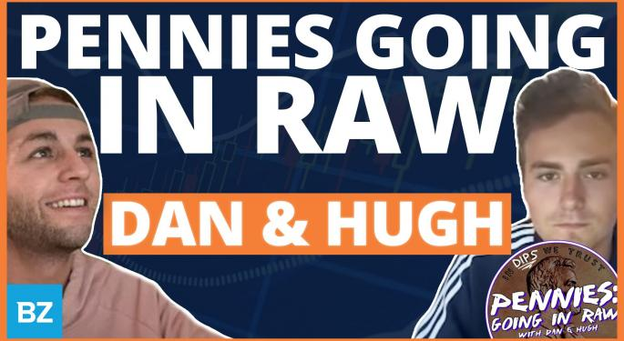 'Pennies: Going In Raw' Hosts Hugh Henne, Dan Deity Join Benzinga's Power Hour