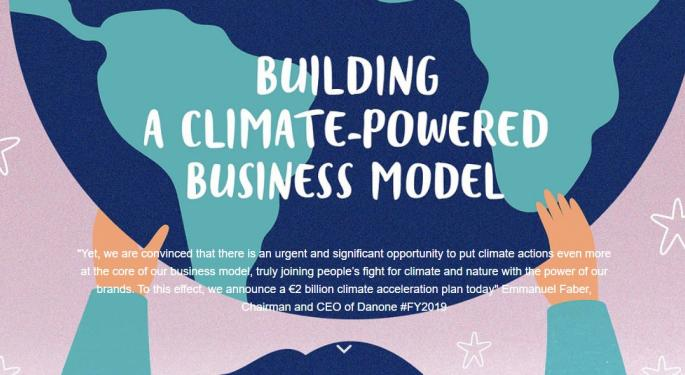 What To Know About Danone's New Sustainability Plan