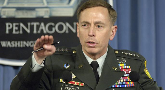 Former CIA Director David Petraeus On Investing In Cybersecurity, The Internet Space
