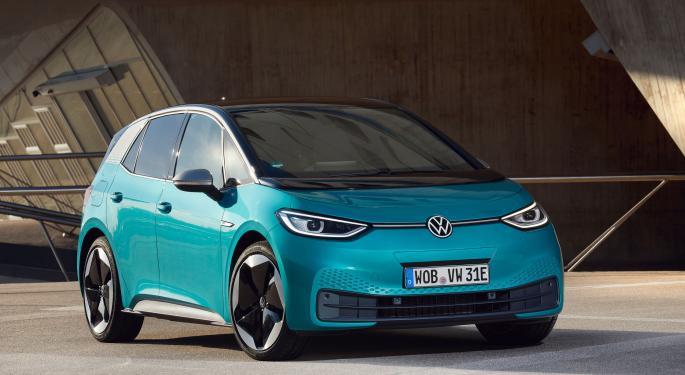 Volkswagen lanza el viernes el coche eléctrico ID.3 en China