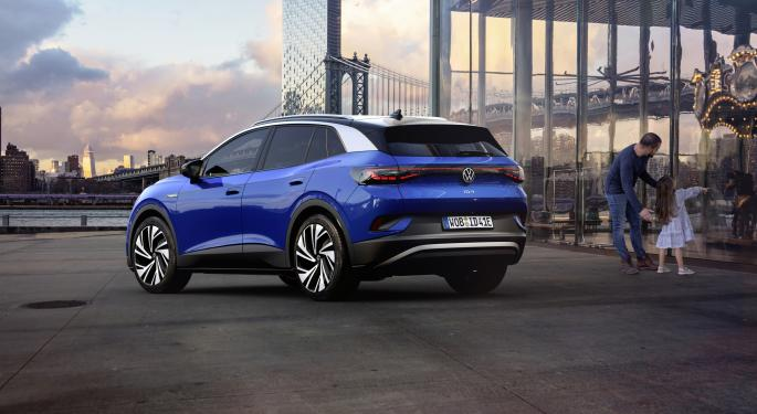 Volkswagen All-Electric ID.4 SUV To Sell For $40K In US