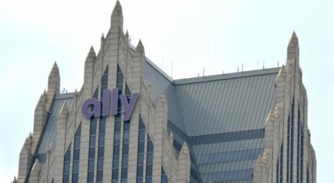 Why Ally Financial's Stock Is Trading Higher Today
