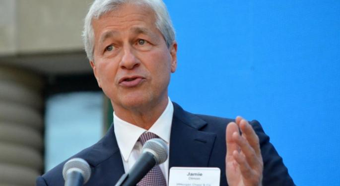 JPMorgan Posts Q1 Sales Beat, Earnings Miss, Builds Credit Reserve For Recession