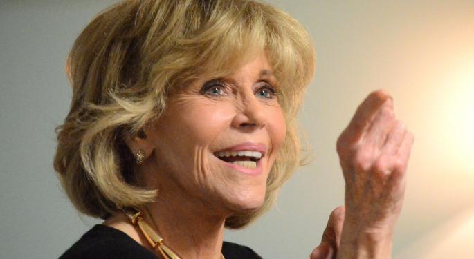 Exclusive: Jane Fonda Talks Activism, President Trump And Tom Hayden's Legacy