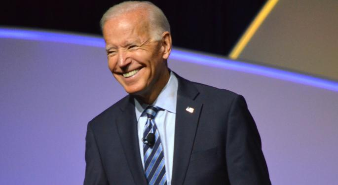 Here's What The Markets Did On The First Day Of Biden's Presidency
