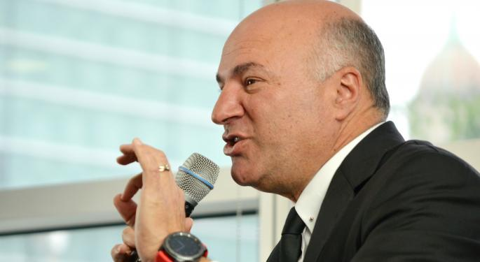 Kevin O'Leary Shares SPAC Picks, Impressions