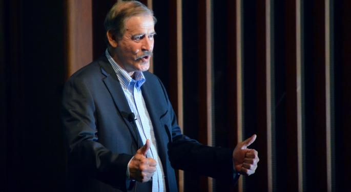 Vicente Fox: Big 3 Automakers 'Will Go Broke' If NAFTA Unravels