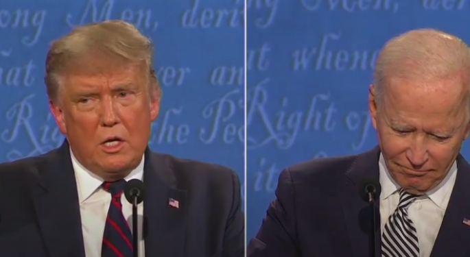 Primer debate presidencial Trump-Biden