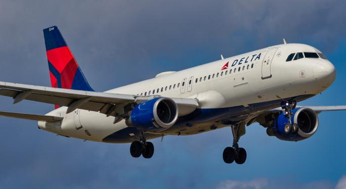 Delta Posts Strong Income Gains Despite Slump In Cargo Revenue
