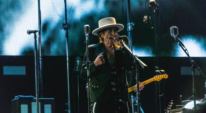 Changing Of The Guard: Bob Dylan Sells Music Library To Universal