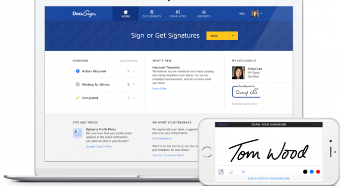 Analysts Initiate Coverage Of DocuSign Following IPO Quiet Period
