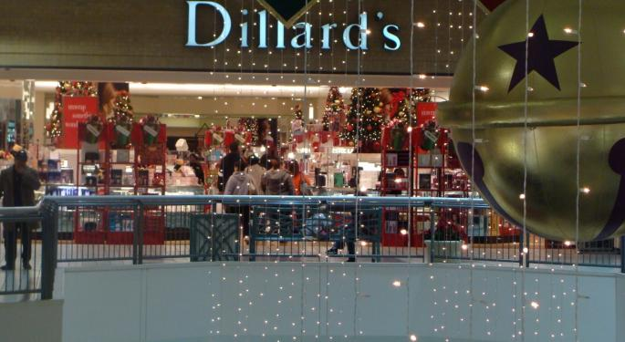 You Wanted Dillard's Because Of The Real Estate? Here It Is