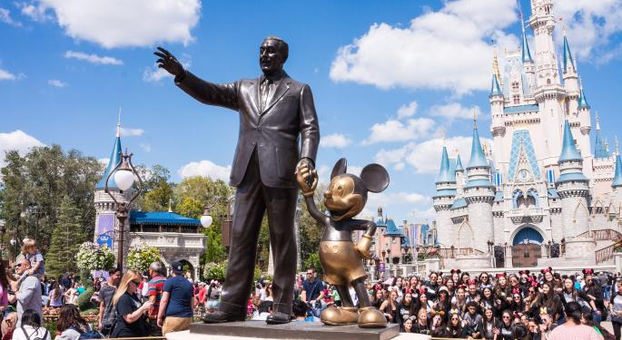 If You Invested $1,000 In Walt Disney Stock One Year Ago, Here's How Much You'd Have Now