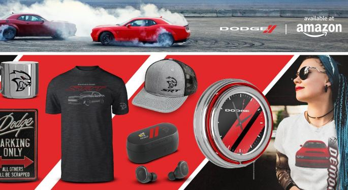Dodge Charges Into E-Commerce With Amazon Store