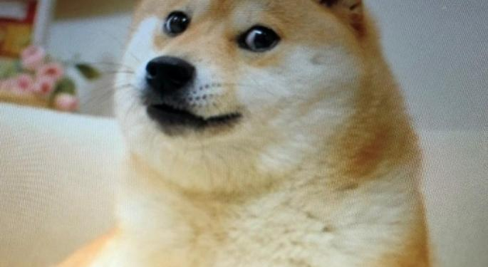 Dogecoin Sees 125% Increase In Trading On Sunday