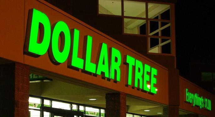 Here's How Much Investing $1,000 In Dollar Tree Stock 5 Years Ago Would Be Worth Today