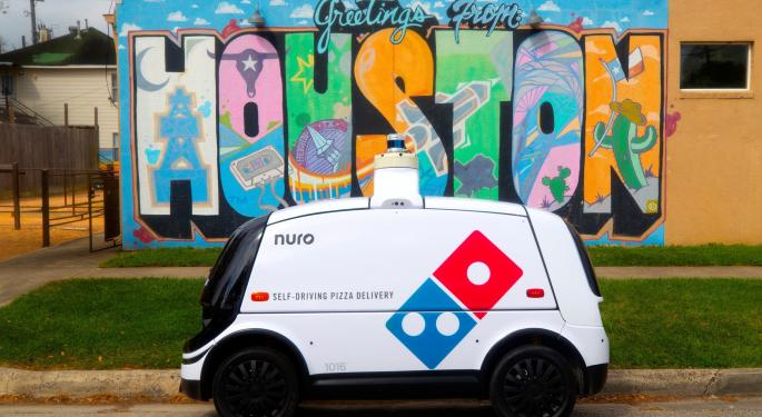 Domino's Teams With Nuro For Autonomous Pizza Delivery