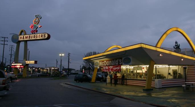 McDonald's: Buy The Pullback, Says BMO
