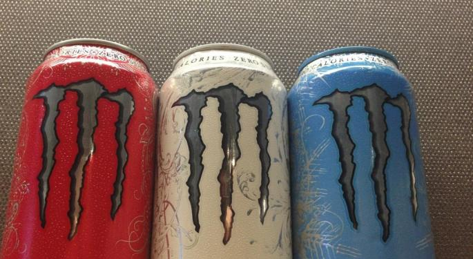 BMO Downgrades Monster Beverages After Hitting 'Peak Valuation'