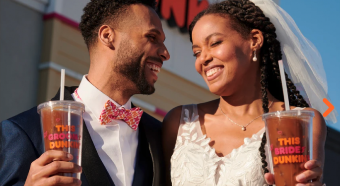 I Do-nut? Dunkin' Brands Debuts Wedding Merchandise In Time For Valentine's Day