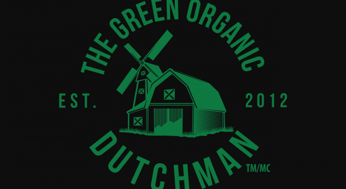 Green Organic Dutchman Posts Revenue of $3.06M, Expands Product Portfolio