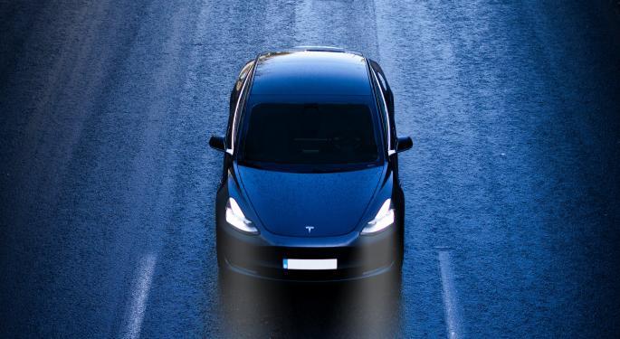 Tesla Rebounds But It Didn't Escape Volatility
