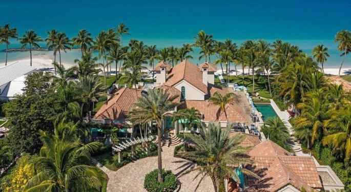 Banyan Trees And Koi Ponds: Estate Along Gulf Of Mexico In Naples, Florida, Going For $54M
