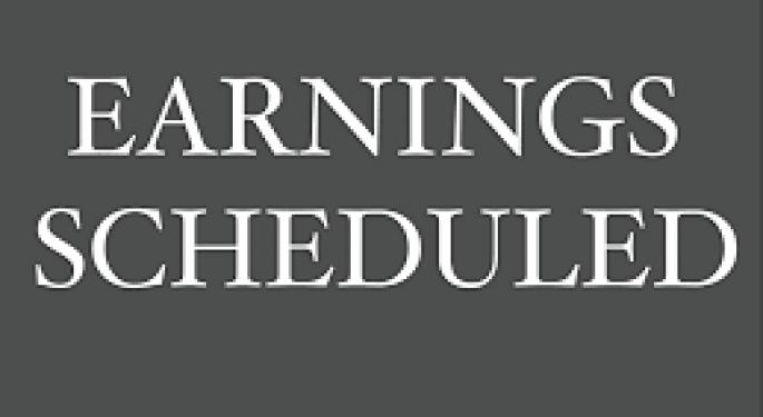 Earnings Scheduled For November 4, 2019