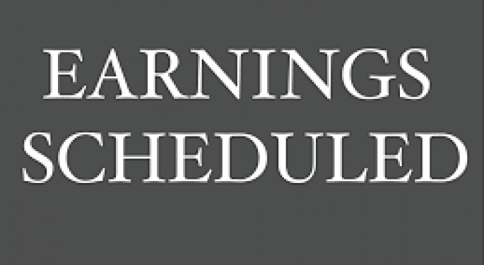 Earnings Scheduled For November 25, 2019