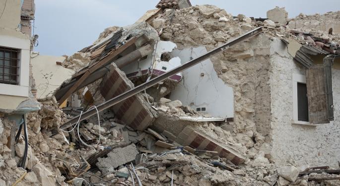 Second California Earthquake Felt As Far As Las Vegas