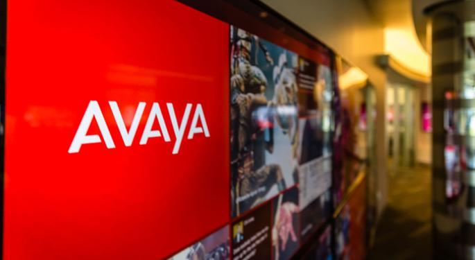 Why Avaya's Stock Is Trading Higher Today