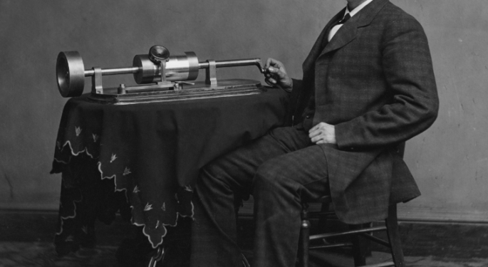 This Day In Market History: Edison Invents The Phonograph