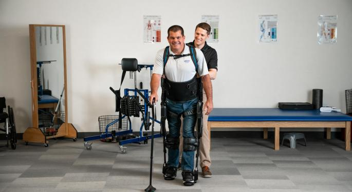 Why Ekso Bionics Stock Is Trading Higher Today