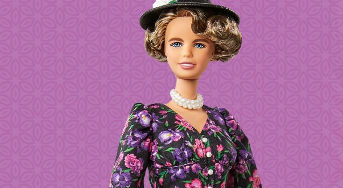 Mattel Debuts Eleanor Roosevelt Doll In Barbie Inspiring Women Series