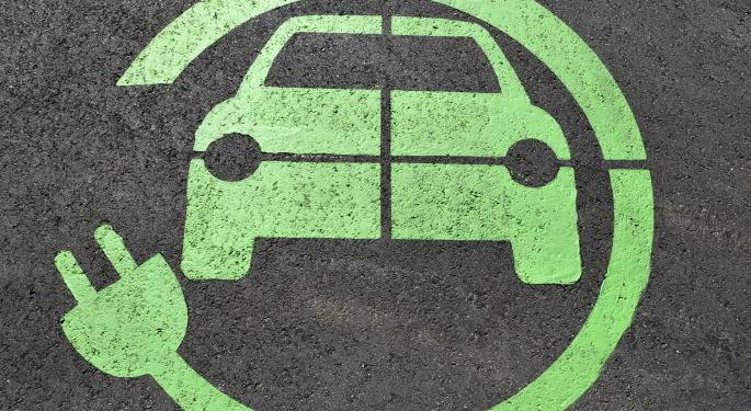 Why Electric Vehicle Stocks Are Trading Higher Today
