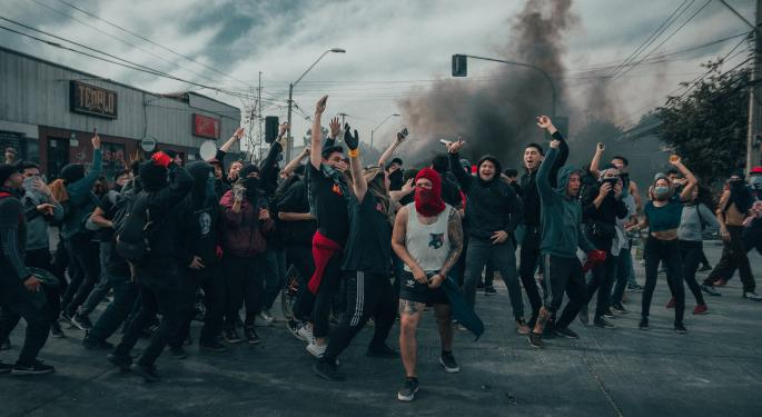 Facebook Says It Acted Against QAnon, Antifa, And Others That 'Celebrated Violent Acts'