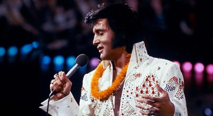 IGT To Develop Elvis Presley-Themed Lottery Games
