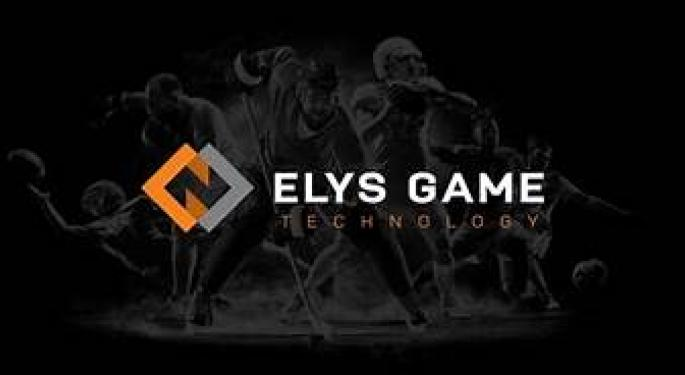 ITALIAN GAMING TECHNOLOGY COMPANY ELYS PLANNING A DELIBERATE ENTRY INTO THE U.S. SPORTS BETTING MARKET