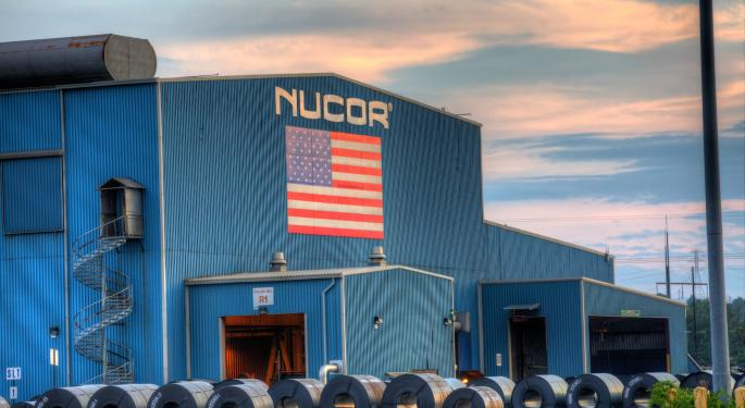 Nucor Lowers Q3 Earnings Guidance, Sees 'Softening' In Some Markets