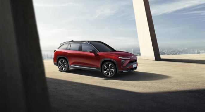 Nio dominará el mercado chino de los coches eléctricos