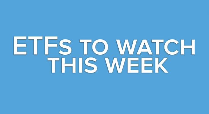 A Look Ahead: This Week's ETFs to Watch