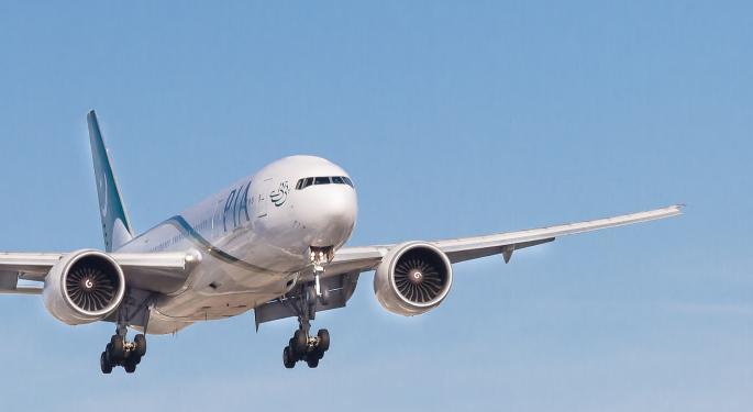 Boeing eleva las previsiones de demanda de China
