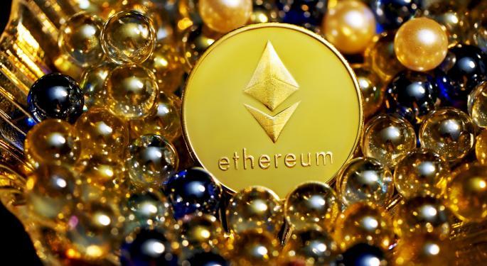 Ethereum supera a Bitcoin en participación en dólares