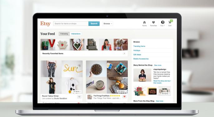 Etsy Soars Higher After Q2 Report, But Analyst Opinions Remain Mixed
