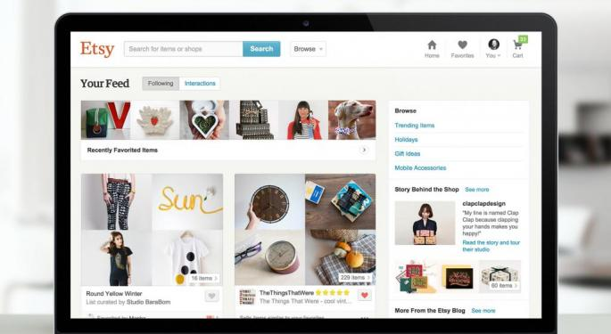 Goldman Sachs Likes Etsy After Strong Year, Upgrades Stock To Buy