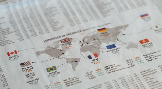 Los mercados internacionales el 30 de octubre de 2020
