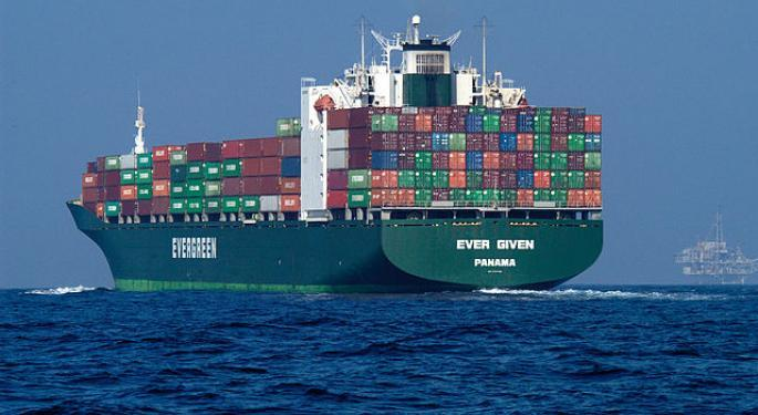 Workers Making Some Progress In Refloating Giant Container Ship Blocking Suez Canal