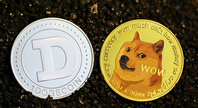 Dogecoin sube un 11,3%, pese al estancamiento de otras monedas