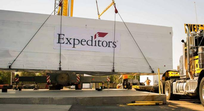 Expeditors International Sees First Quarter Net Income Fall 12.5%